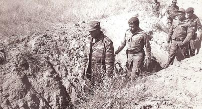 Presidente José Eduardo dos Santos comandou as tropas que no campo de batalha infligiram uma derrota histórica ao exército do regime de apartheid da  África do Sul