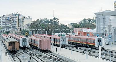 A reabilitação do Caminho de Ferro de Benguela facilitou a circulação de pessoas e bens entre a província e a República Democrática do Congo