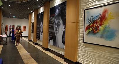 Exposição das artistas plásticas angolanas fica à disposição do público até ao dia 10 do mês dedicado à mulher