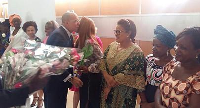 Ministro homenageou mulheres