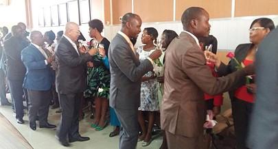 Cerimónia juntou funcionários