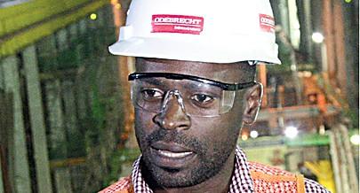 Engenheiro Manuel Kai fala à imprensa