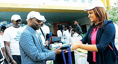 Vice-presidente da Comissão Administrativa da Cidade de Luanda Mara Baptista Quiosa prestigiou o acto