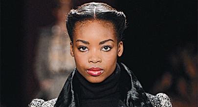 Modelo angolana faz sucesso em Londres