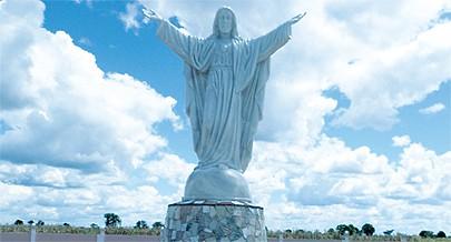 Cristo Rei é uma das atracções turísticas da província do Bié que atrai muitos visitantes