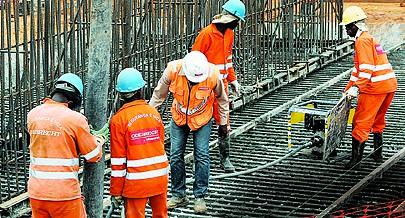 Assegurado o fornecimento regular de materiais de constução de qualidade às grandes obras de engenharia civil
