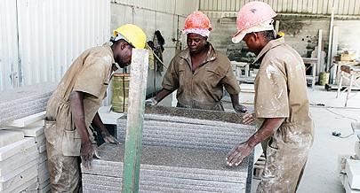 Sector das rochas ornamentais em franca evolução com uma série de medidas políticas e estruturais adoptadas pelo Executivo angolano