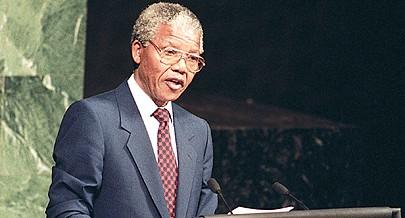 A personalidade de Nelson Mandela fascinou a opinião pública internacional que influenciou a sua libertação