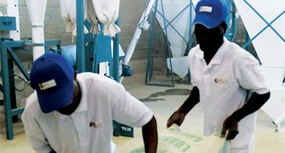Fábrica de transformação tem capacidade para processar uma tonelada de milho por hora