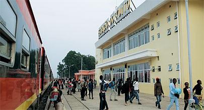 Estação ferroviária do Cuito é uma das mais modernas erguidas ao longo do Caminho-de-Ferro de Benguela e oferece óptimas condições
