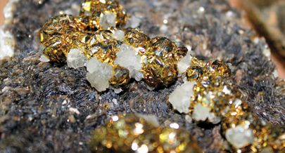 Análises de laboratório vão confirmar e quantificar a variedade de minerais