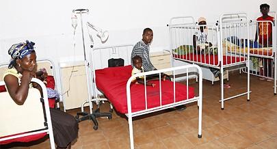 Com um único posto de saúde  e dois enfermeiros a gripe e o paludismo encabeçam o gráfico de doenças  predominantes na comuna
