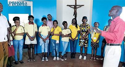Visita de estudo no Museu Nacional da Escravatura