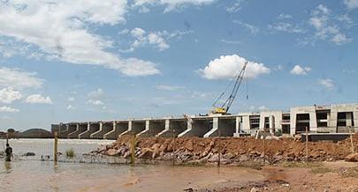 Barragem Hidroeléctrica de Calueque funciona de forma parcial  enquanto durarem as obras