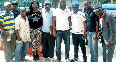 Figuras ligadas ao futebol residentes no Sambizanga estiveram presentes