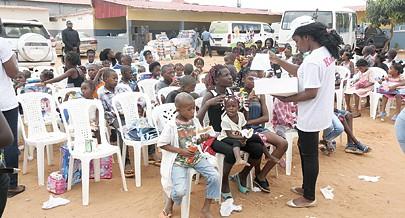 Acto de solidariedade permitiu a doação de diversos bens ao Centro de Acolhimento El-Betel