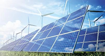 Há potencial para produzir energias limpas a partir de fontes  eólicas e solares
