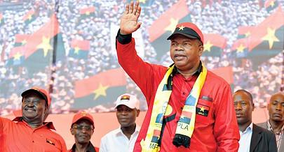 Vice-presidente do MPLA João Lourenço pediu aos militantes e amigos do partido voto de confiança para continuar a conduzir os destinos do país e resolver os problemas do povo