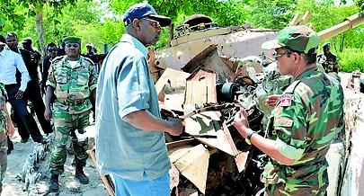 Ministro Muandumba prometeu apoiar o IRSEM com acções de reintegração dos antigos militares