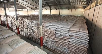 Quantidade de açúcar em armazenamento cobre as necessidades do país por um período superior a dois meses