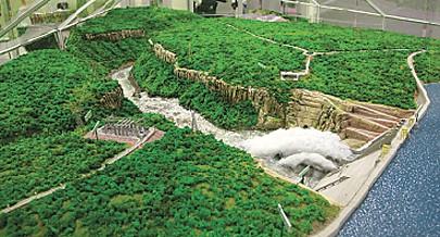 A bela imagem que o Aproveitamento Hiidroeléctrico de Laúca terá no próximo ano quando estiver concluído