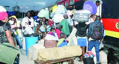 Milhares de passageiros foram transportados pelo Caminho-de-Ferro de Moçâmedes