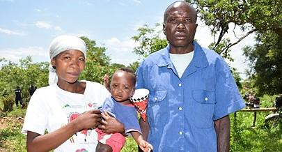 Centenas de famílias da comunidade san receberam terras para o desenvolvimento da agricultura melhorando assim as condições de vida