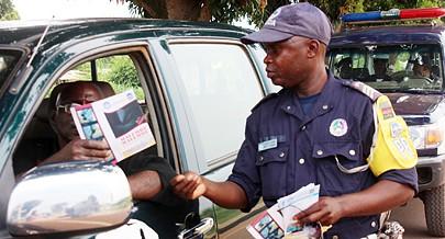 A prevenção rodoviária é apontada pela Polícia Nacional como uma forma de evitar acidentes
