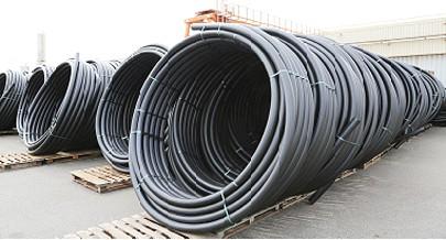 A Indutubo é já um dos maiores fornecedores de materiais de canalização para obras públicas