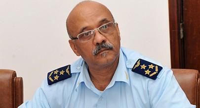 """Comandante da Força Aérea Nacional General Francisco Gonçalves Afonso """"Hanga"""""""