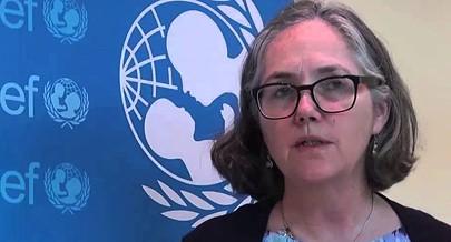 Conselheira da Unicef Theresa Kilbane