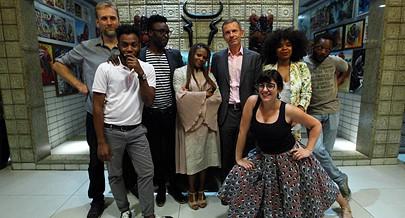 Participantes na exposição EU em Angola foram homenageados