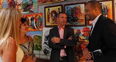 Público tem a oportunidade de visitar a exposição no Centro Cultural Camões