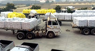 A partir do Centro Logístico os insumos agrícolas chegam mais facilmente aos produtores