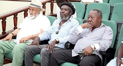 Três rostos conhecidos das artes angolanas