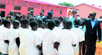 Governo da Huíla está apostado na expansão de novas escolas e na criação de condições necessárias para garantir a qualidade na formação