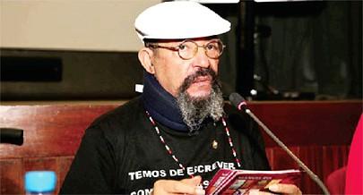 Romancista Manuel Rui apresentou na quinta-feira em Lisboa a sua mais recente obra literária na qual idealizou uma ficção encantatória