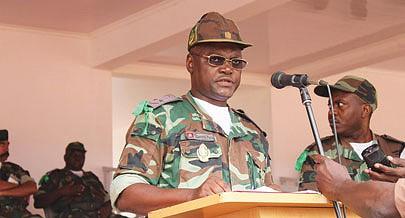 Comandante da Região Militar Nicolau Puna