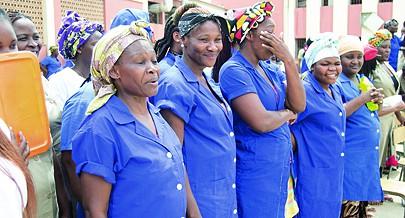Dia Internacional da Mulher foi comemorado com festa na ala feminina da Cadeia de Viana