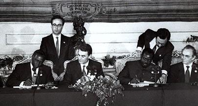A assinatura dos Acordos de Bicesse abriu uma janela de esperança para todos os angolanos