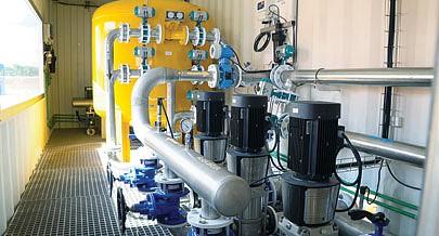 O sistema permite detectar imediatamente todo o tipo de impurezas presentes na água