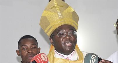 Bispo da Diocese do Uíge Emílio Sumbelelo