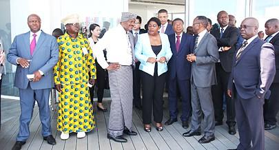 Leonildo Ceita inaugurou o edifício sede da EPAL na presença de várias personalidades do  quadrante político e social