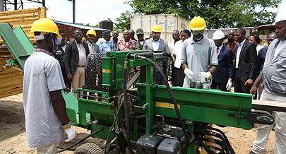 O empreendimento vai garantir vários benefícios à economia   angolana