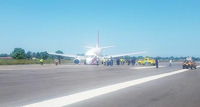 Aeroporto da cidade petrolífera do Soyo está encerrado ao tráfego aéreo devido a um acidente com uma aeronave da companhia TAAG