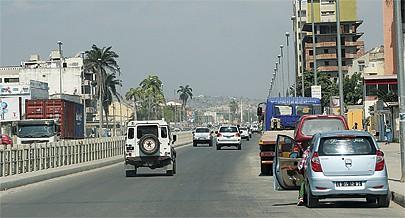 Benguela tornou-se numa  spécie de centro comercial para trocas de produtos