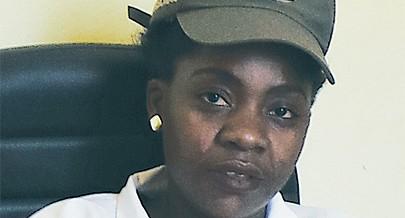 Psicóloga penitenciária Tânia Muvundo