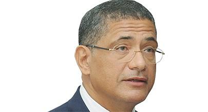 Ministro da Energia e Águas João Bptista Borges