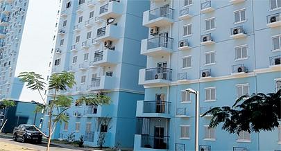 Um ângulo da Centralidade do Kilamba o mais emblemático dos projectos  habitacionais do pós-Independência