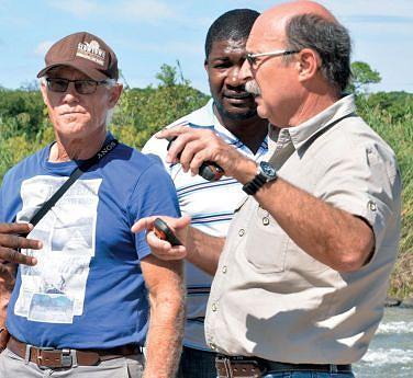 Empresários sul-africanos em visita exploratória às chamadas